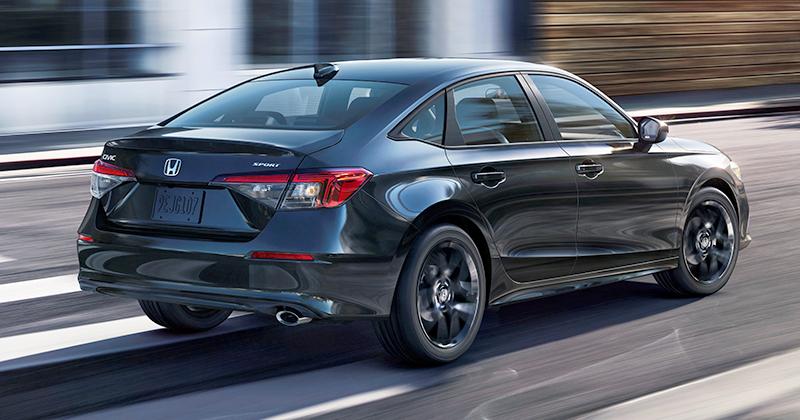 07 2022 Honda Civic Sedan Sport
