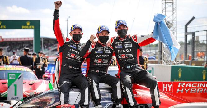 Fourth Successive LeMans Win for Toyota Gazoo Racing 5