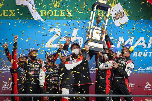 Fourth Successive LeMans Win for Toyota Gazoo Racing 4