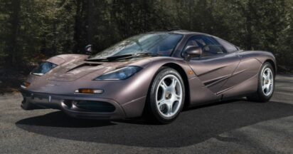 1995 McLaren F1 Auctioned for Record $20.465 Million 2