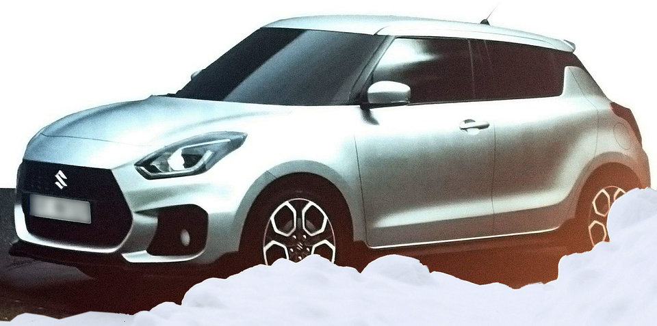 suzuki swift sport leak hero