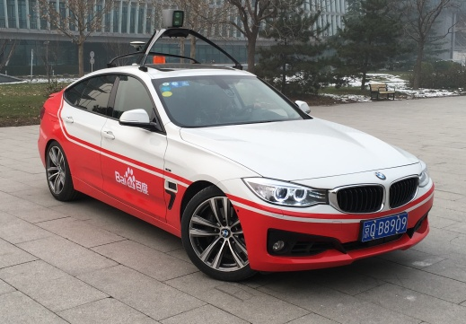 baidus bmw self driving car
