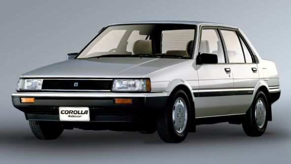 The Legendary 5th Generation Toyota Corolla E80 5