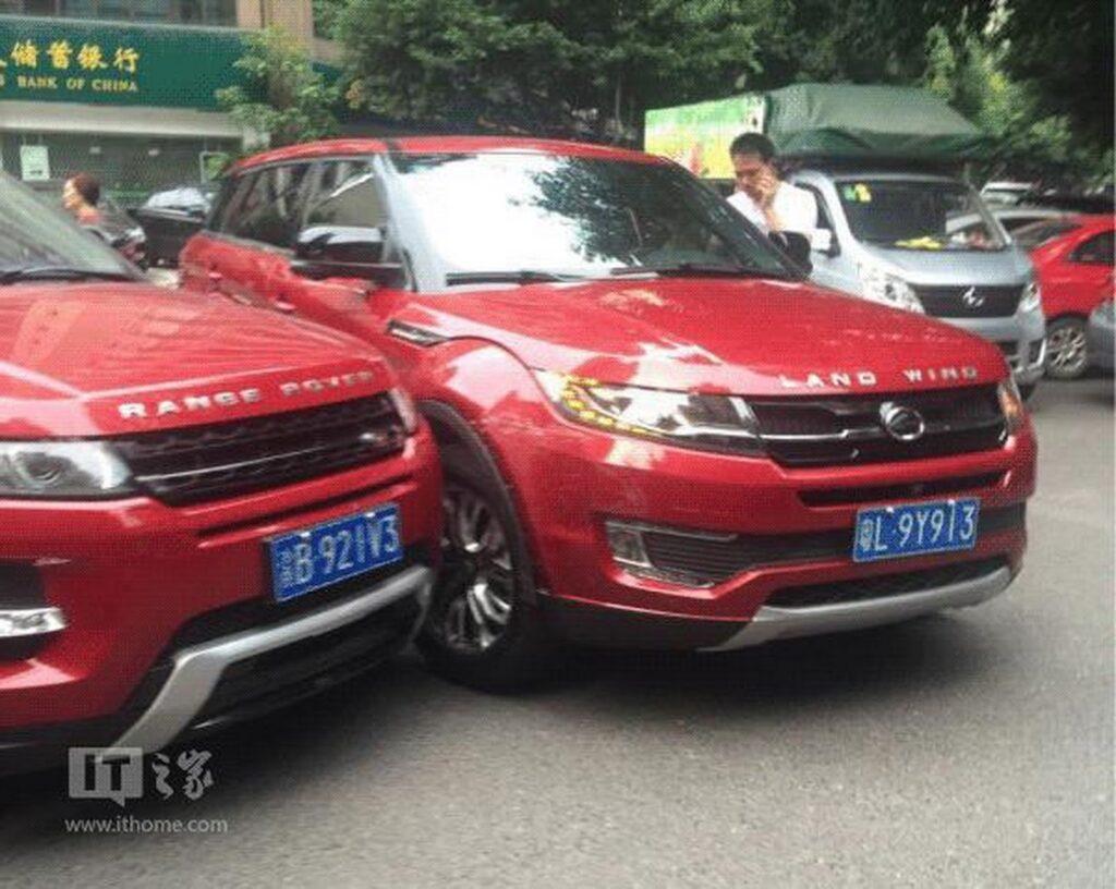 Crash Of The Clones: X7 Crashes Into Evoque In China! 8