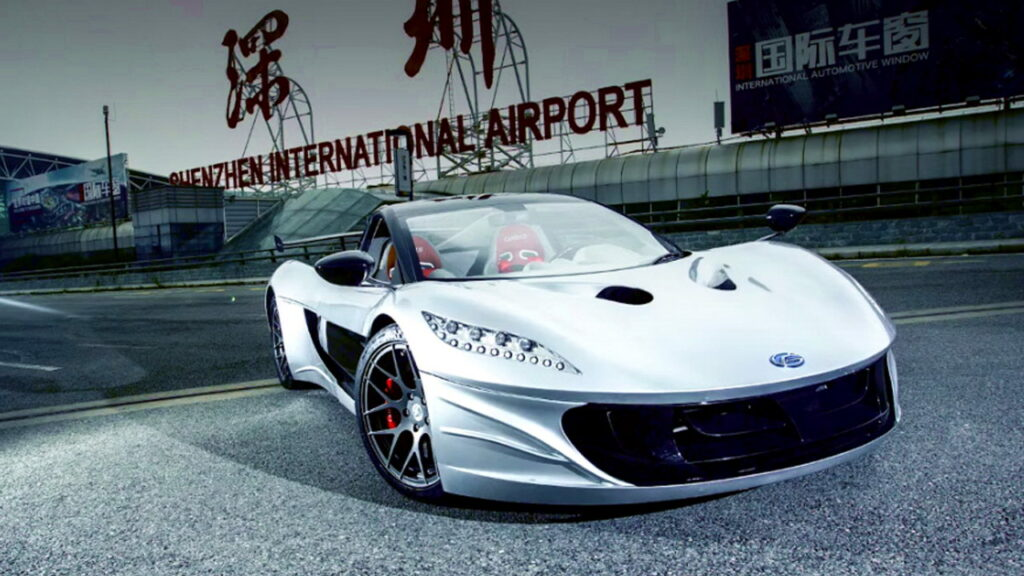 Windbooster Titan Electric Supercar From China 7