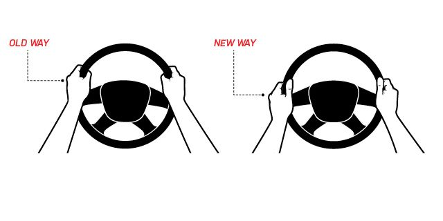 Guide: Correct Way To Hold The Steering Wheel 4