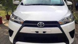 2017 Toyota Yaris To Ride On TNGA-B Platform 1
