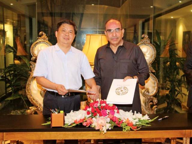 Bahria Town & Chinese Group Signs Karachi Transport Deal 2