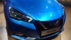 2017 Nissan Micra grille in Paris