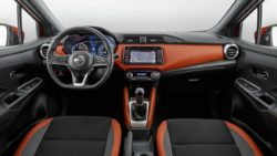 2017 Nissan Micra interior dashboard