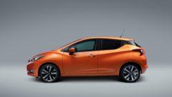 2017 Nissan Micra side profile