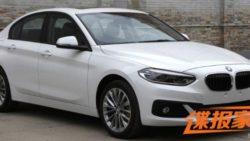 BMW 1 Series Sedan To Debut At Guangzhou Auto Show 2