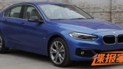 BMW 1 Series Sedan To Debut At Guangzhou Auto Show 1