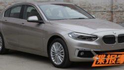 BMW 1 Series Sedan To Debut At Guangzhou Auto Show 3