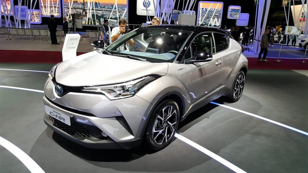 Toyota CH-R Goes Live At Paris Motor Show 6