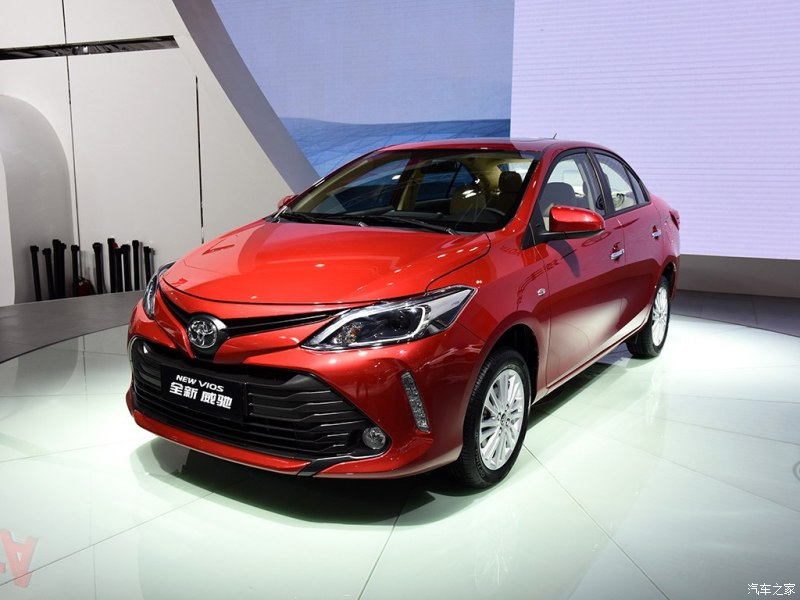 Toyota Vios 2016 Facelift Unveiled 3