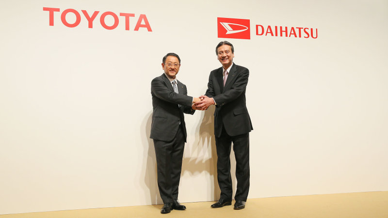Toyota Completely Acquires Daihatsu 8