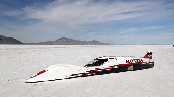 Honda's 660cc S Dream Streamliner Is Faster Than A Bugatti Veyron 1