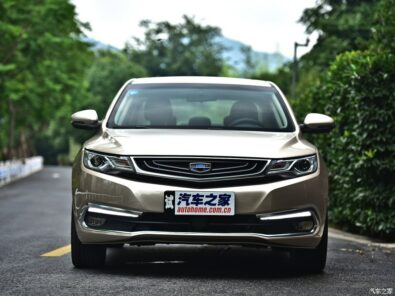 All New Geely Emgrand GL Vs Geely CK From The Past 4