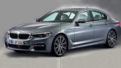 2017 BMW 5 Series front leak