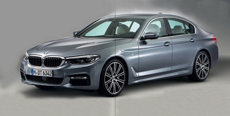More Leaked Images of 2017 BMW 5 Series Hit The Internet 4