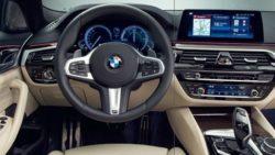 2017 BMW 5 Series interior leak