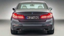 2017 BMW 5 Series rear end leak