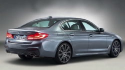 2017 BMW 5 Series rear leak