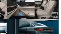 BMW 5 Series 2017 seats and dashboard leaked