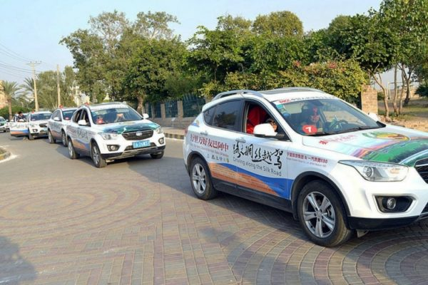 Pakistan-China Friendship Car Rally Reaches Sindh 5