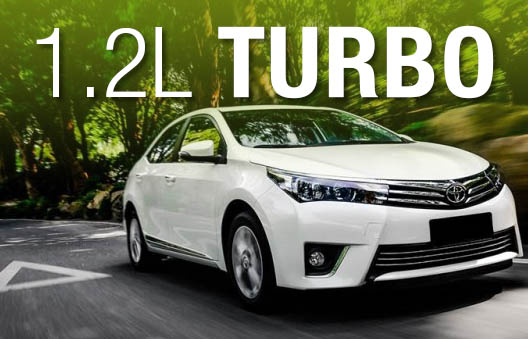 Toyota Launches Corolla 1.2 Liter Turbo in China 1