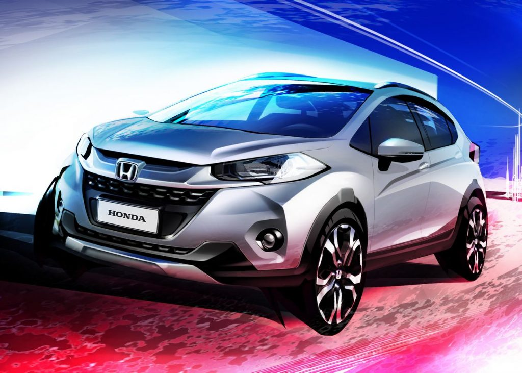 Honda Releases Official Rendering of the WR-V Crossover 7