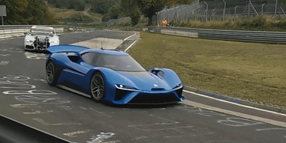 NextEV's 1360-hp Electric Supercar Caught Testing at the Nurburgring 9