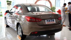 FAW A70 Sedan Launched In China 18