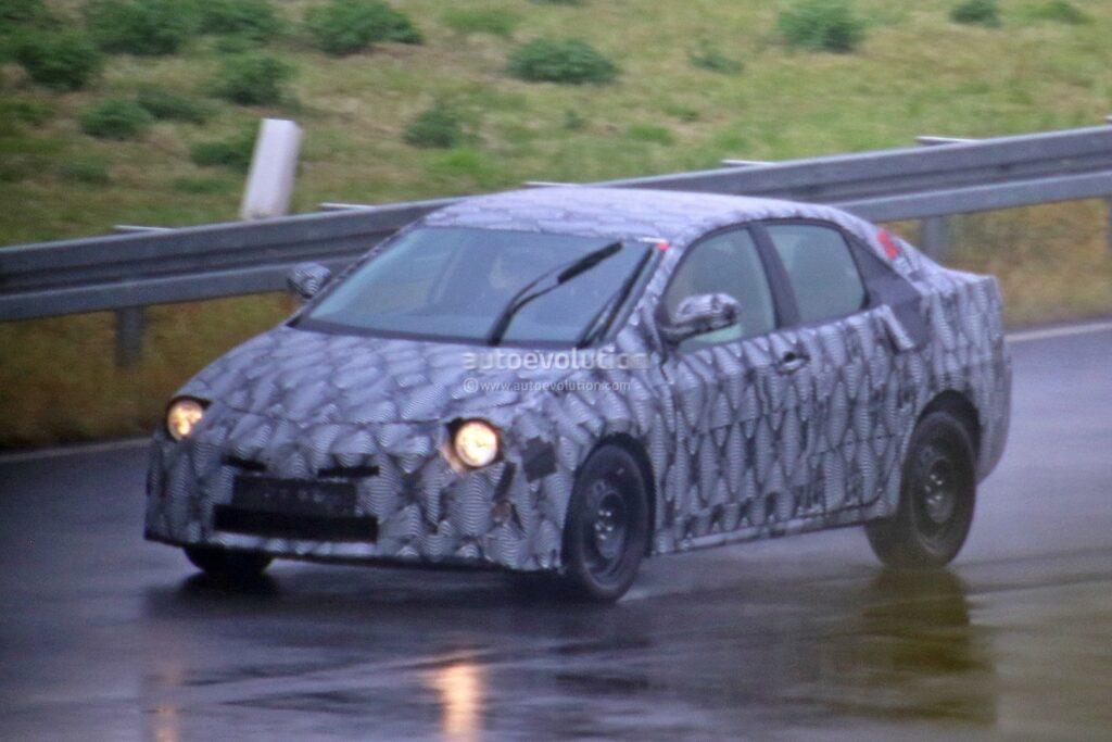 Toyota Begins Testing 12th Gen Corolla Based On TNGA Platform 1