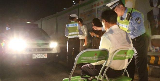 Full-Beam Drivers In China Are Forced To Stare Into Car Headlights 1