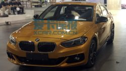 BMW 1-Series Sedan Spotted Ahead of Guangzhou Auto Show 1