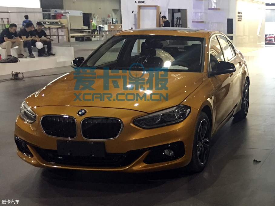 BMW 1-Series Sedan Spotted Ahead of Guangzhou Auto Show 9
