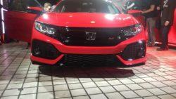 Honda Civic Si Prototype front at 2016 LA Auto Show