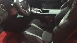 Honda Civic Si Prototype interior at 2016 LA Auto Show