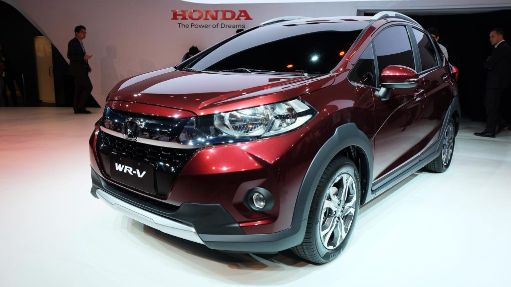 Honda Unveils the WR-V Crossover at 2016 Sao Paulo Auto Show 2