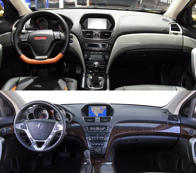 Clone Country: Jinbei Of China Copies Acura MDX