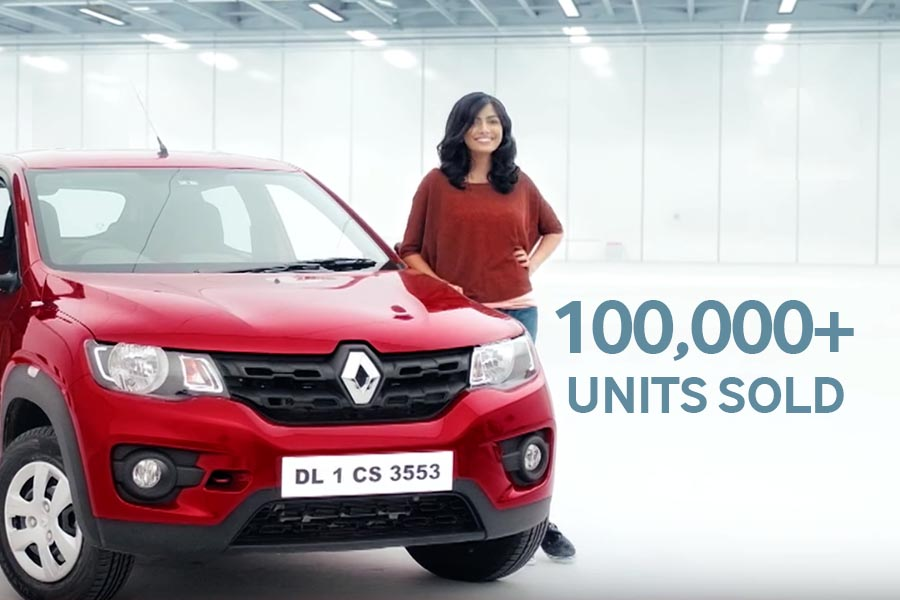 Renault Sells Over 100,000 Kwid in India 1