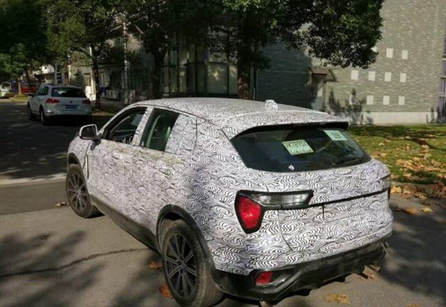 Geely's Lynk & Co CX11 Spotted Testing in China 10