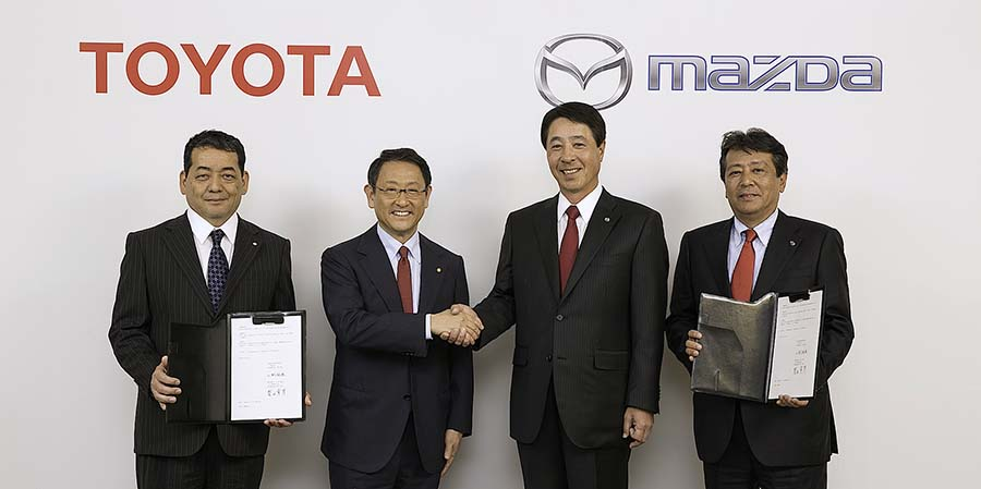 Toyota and Mazda to Form Partnership 1