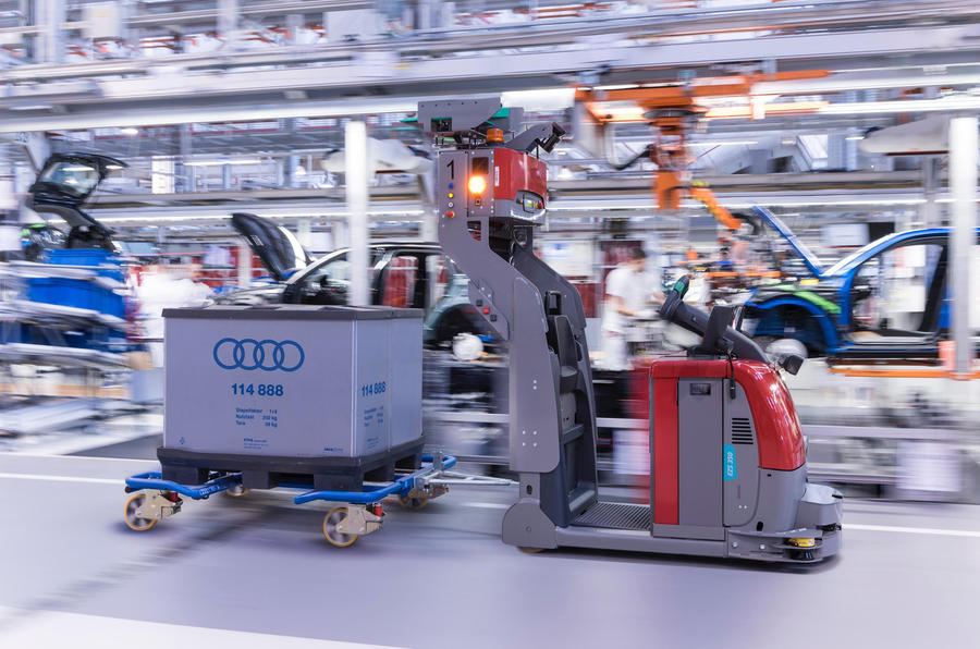 Audi to Say Goodbye to Conventional Production Line 4