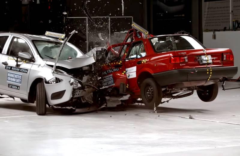 Vehicle Safety: Past vs Present 4