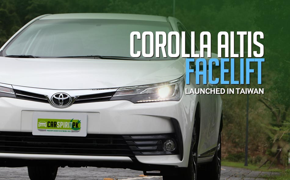 Corolla Altis Facelift Launched In Taiwan 2