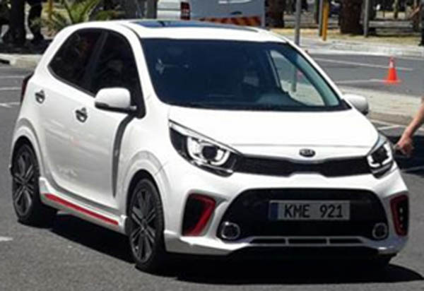 2017 Kia Picanto Official Sketches and Spy Shots 2