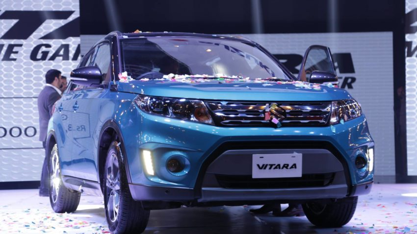 Pak Suzuki Launched The Vitara Compact SUV- Priced From 34.9 Lac 1